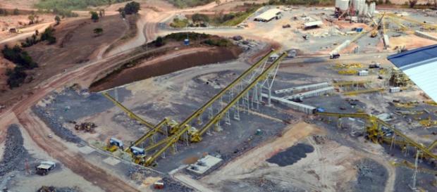 Canteiro de obras da Usina em Belo Monte (Divulgação: Regina Santos /O Globo)