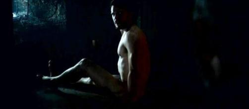 "Imagen de Jon Nieve desnudo,el famoso bastardo de ""Juego de Tronos"""