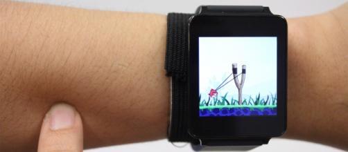 SkinTrack, la tecnologia che permette di utilizzare il nostro braccio come schermo