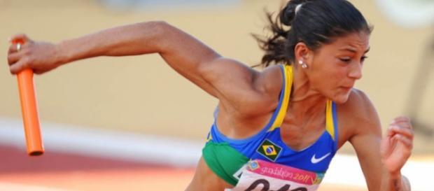 A Atleta, flagrada no doping, apesar da suspensão vai participar da Rio 2016