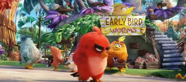 Angry Birds the Movie / screenshot courtesy of official movie trailer https://www.youtube.com/watch?v=1U2DKKqxHgE