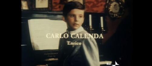 Carlo Calenda nello sceneggiato del nonno