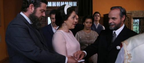 Il Segreto: Raimundo sposa Francisca, Emilia non vuole