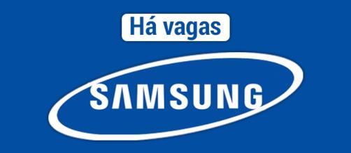 Vagas abertas na Samsung: multinacional está contratando em diversos países