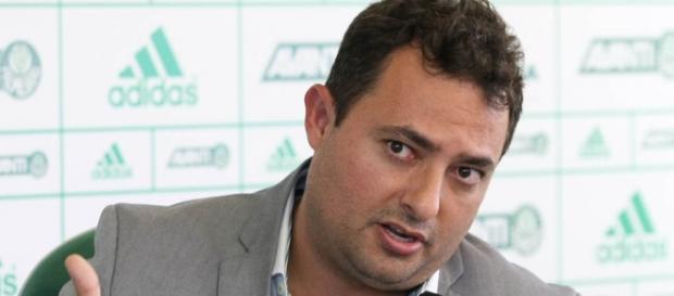 Alexandre Mattos, executivo de futebol do Palmeiras
