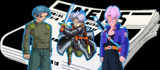 Diferentes versiones de Trunks del Futuro