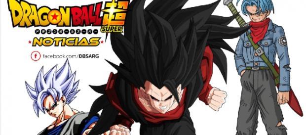 Fan-arts de evil Goku y Trunks del Futuro de DBS (original)