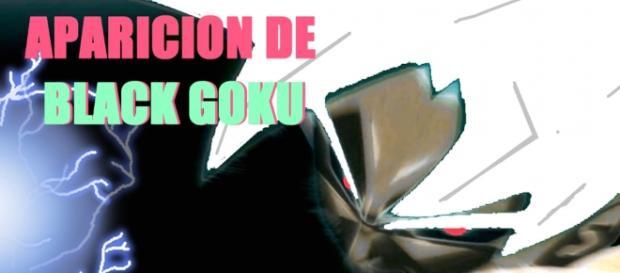 Goku oscuro causando caos y destrucción