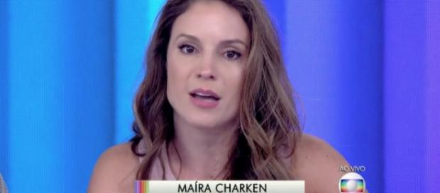 Maíra Charken está na geladeira