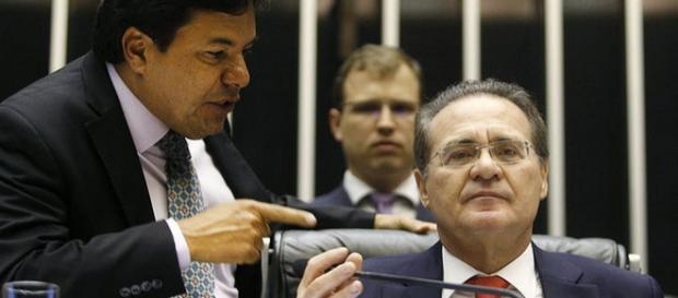 Renan recusa decisão de Waldir Maranhão