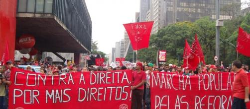 MTST está em prédio da presidência em São Paulo