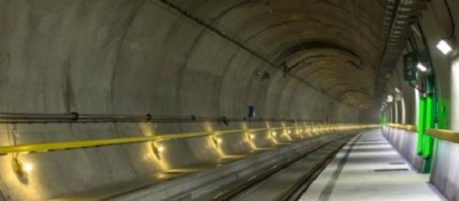 Nuevo tunel ferrobario de suiza