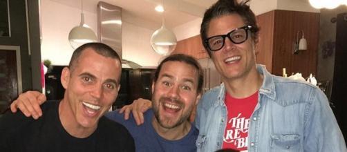 Reunión reciente de algunos miembros de Jackass
