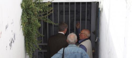 Roma: sottopassagio chiuso di Villa Spada