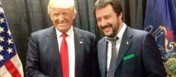 Donald Trump e Matteo Salvini, una montatura o una retromarcia di Trump?