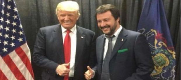 Immagine pubblicata su Twitter da Salvini.