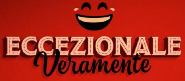 Logo del talent show Eccezionale Veramente