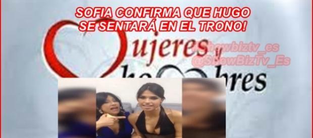 Sofía asegura que Hugo es el próximo tronista de MYHYV