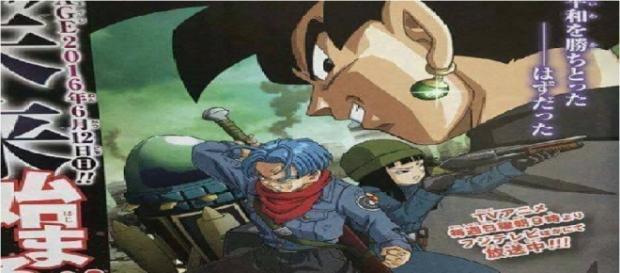 Trunks del futuro regresara y no lo hará solo para luchar contra Black Goku.