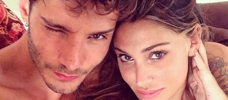 Stefano De Martino insieme a Belen Rodriguez.