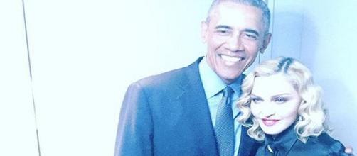 """Barack Obama e Madonna dietro le quinte del """"Tonight Show"""""""