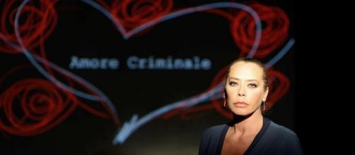 Barbara De Rossi, conduttrice Amore criminale