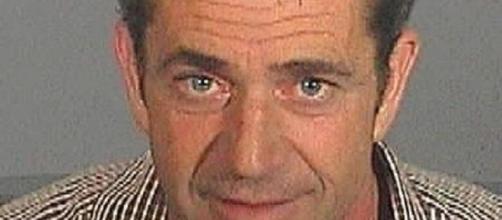 Mel Gibson mug shot (Los Angeles sheriffs department)