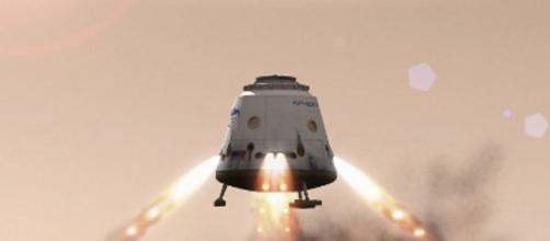 Red Dragon landing on Mars (SpaceX by permission)