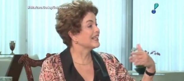 Dilma foi entrevistada por Mariana Godoy