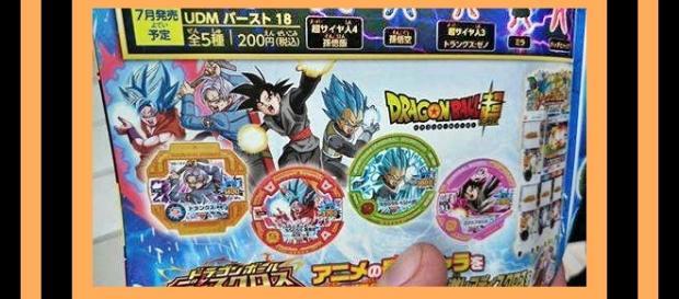 Goku con su Kaio Ken, Trunks del futuro, Goku Black y Vegeta