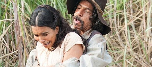 Juliana é pega por Osório, e Tito acaba ajudando a moça.