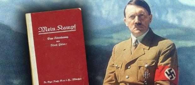 """Sabato 11 giugno il Mein Kampf sarà venduto insieme al """"Giornale""""."""