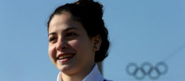 Yusra Mardini, nadadora síria refugiada