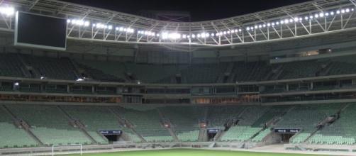 Allianz Parque, estádio do Palmeiras, vai sediar Palmeiras e Corinthians neste domingo
