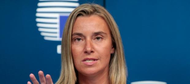 Federica Mogherini contro barriere e muri in Europa.