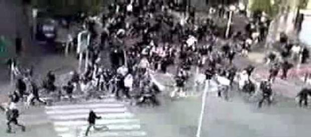 Graves disturbios de los hooligans en Marsella a pesar de las amenazas terroristas del ISIS