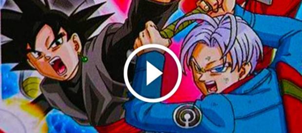 Neuvo Trailer de Super Dragon Ball Heroes muestran los nuevos enemigos + Nueva imagen de la apariencia de Black Goku de la saga de Trunks del Futuro