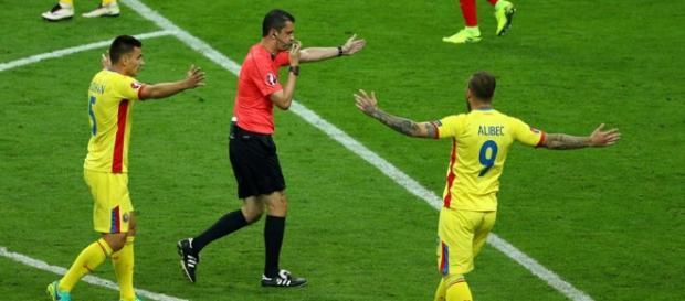 Penalty pentru România foto: FRF