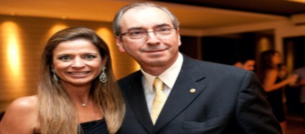 Presidente afastado da Câmara Federal, Eduardo Cunha,defende sua esposa, Cláudia Cruz, de acusações de corrupção