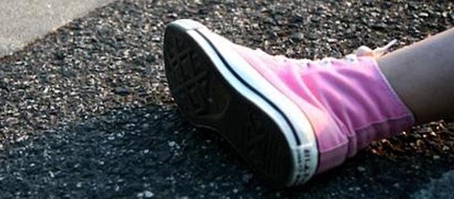 Menina de 8 anos atropelada quando ia ao cemitério