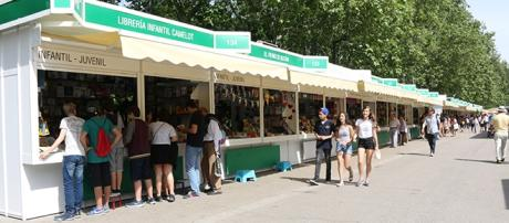 Feria del libro de Madrid. Foto: JEXA.