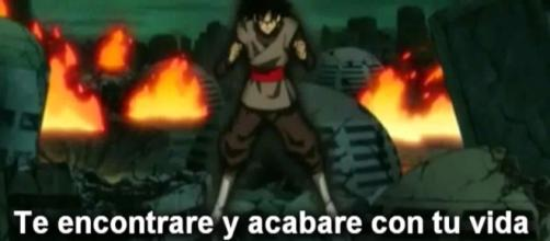 Black esta enfurecido por no poder matar a Trunks.