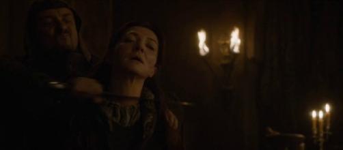 Catelyn Stark fue asesinada en la Boda Roja
