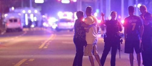 Foto tras el tiroteo en el bar gay
