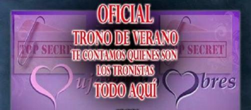 Los tronistas oficiales del TRONO DE VERANO