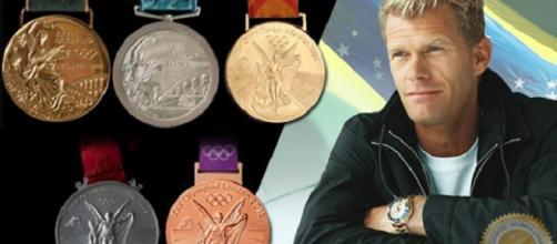 Robert Scheidt, maior medalhista olímpico do Brasil