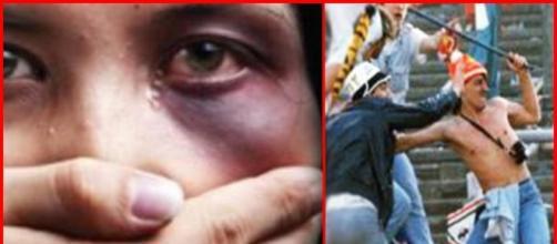 Violenza sulle donne e negli stadi.
