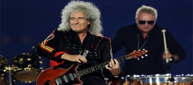 Brian May, guitarrista da banda Queen (Foto: Reprodução/Google)