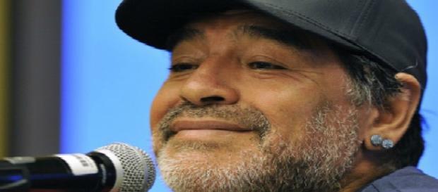 Diego Maradona, ex-jogador de futebol