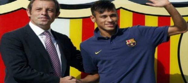 Neymar Jr., jogador do Barcelona, da Espanha